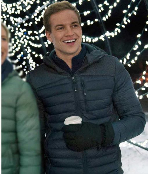 Amazing Winter Romance Nate Perry Puffer Jacket