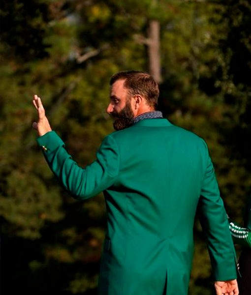 American Professional Golfer Dustin Johnson Green Jacket Ceremony