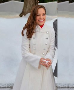 Anna One Royal Holiday White Coat