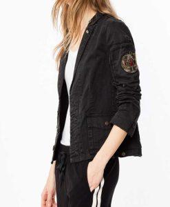 B Positive Gina Military Jacket