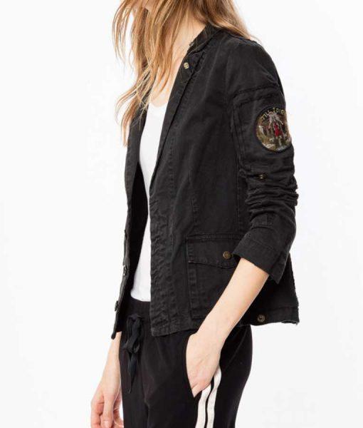 Annaleigh Ashford B Positive Gina Military Jacket