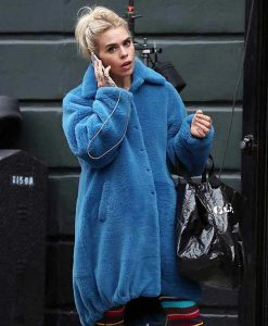 I Hate Suzie Suzie Pickles Blue Fur Coat