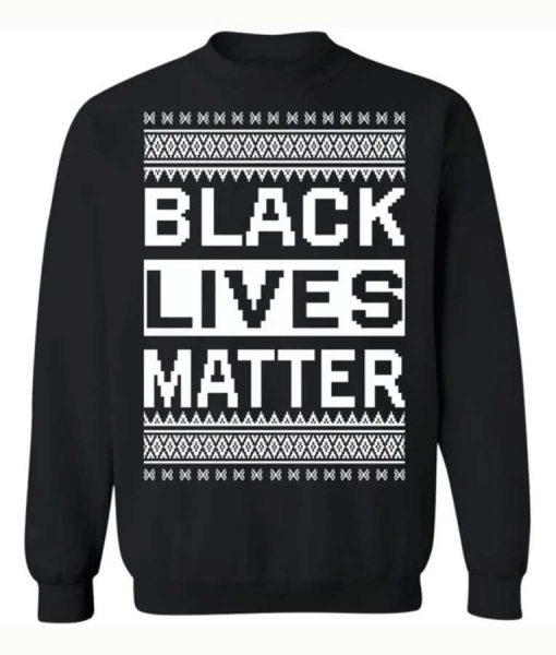 Black Lives Matter Christmas Sweater