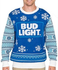 Bud Light Christmas Sweater