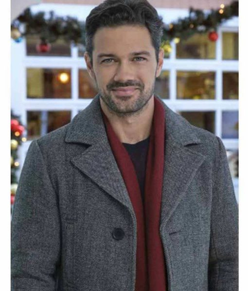 Charles A Timeless Christmas Grey Coat