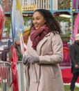 Christmas Comes Twice Tamera Mowry-Housley Light pink Coat