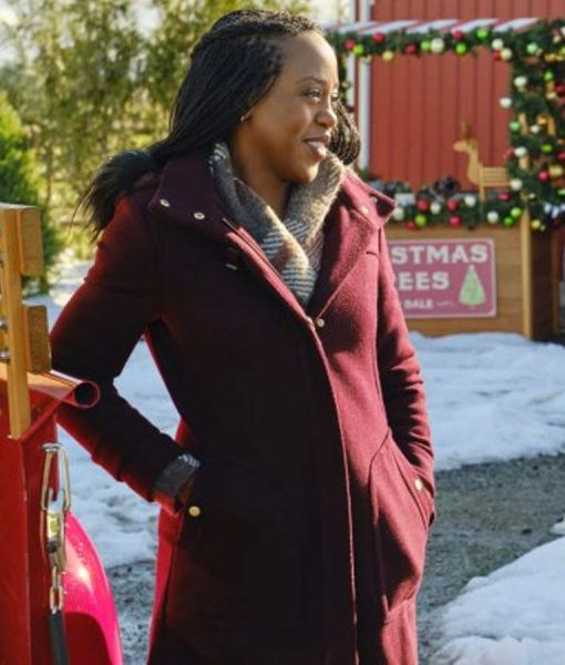 Christmas In Evergreen Bells are Ringing Hannah Coat