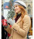 Christmas in Vienna Sarah Drew Trench Coat