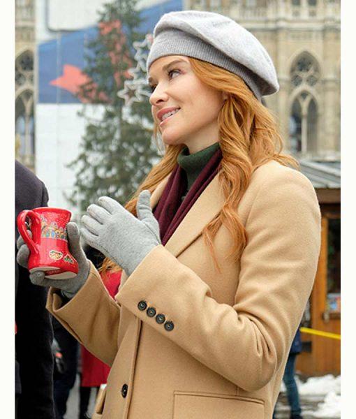 Christmas in Vienna Sarah Drew Coat