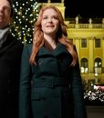 Christmas in Vienna Sarah Drew Green Coat