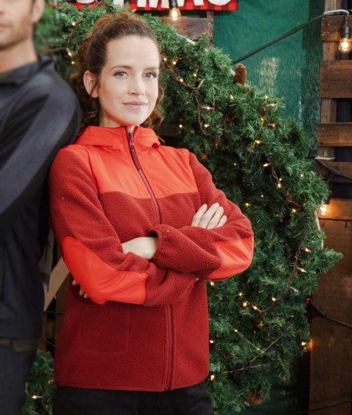 Christmas in the Rockies Katie Jolly Jacket With Hood