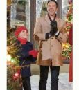 Christmas with the Darlings Carlo Marks Beige Coat