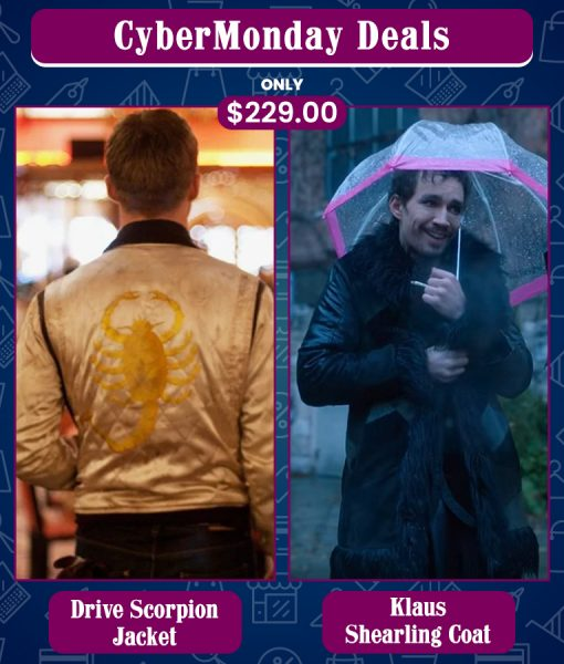 CyberMonday Scorpion & The Umbrella Academy Klaus