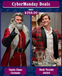 CyberMonday Santa Claus & Dash & Lily Edgar