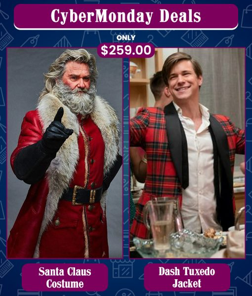 CyberMonday Santa Claus & Dash & Lily Edgar