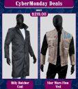 CyberMonday The Boys Billy Butcher & Star Wars Finn
