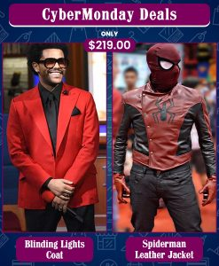 CyberMonday The Weeknd Blinding Lights & Spiderman