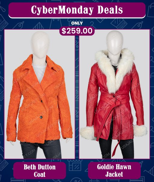 CyberMonday Yellowstone Beth Dutton & Goldie Hawn