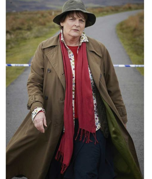 DCI Vera Stanhope Double-Breasted Coat