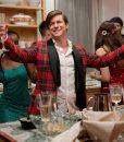 Dash & Lily Edgar Christmas Checkered Tuxedo Jacket