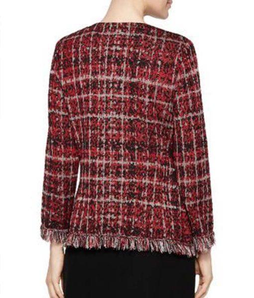 Filthy Rich Norah Ellington Plaid Tweed Jacket