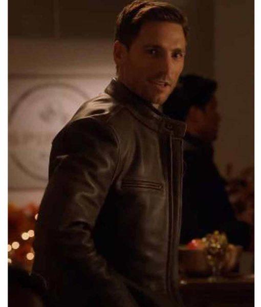Sweet Autumn Andrew W. Walker Leather Jacket