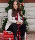 Emily Dashing Home for Christmas Coat