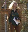 Filthy Rich Margaret Monreaux Suede Leather Fringe Jacket
