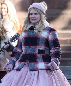 Godmothered Jillian Bell Plaid Jacket
