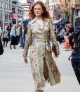 The Undoing Grace Fraser Floral Coat