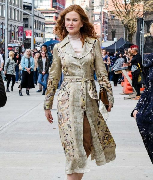 Grace Fraser The Undoing Nicole Kidman Floral Coat