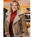Grace Garland A Veteran's Christmas Jacket