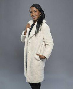 Christmas In Evergreen Bells are Ringing Hannah White Coat
