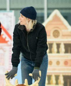 Happiest Season Kristen Stewart Abby Jacket