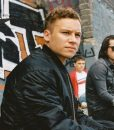 Here Are the Young Men Finn Cole Black Bomber Jacket