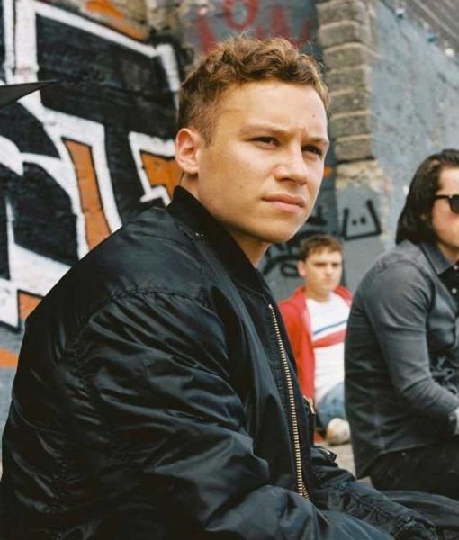 Kearney Here Are the Young Men Finn Cole Black Jacket