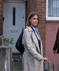 Keeley Hawes Honour 2020 DCI Caroline Goode Trench Coat