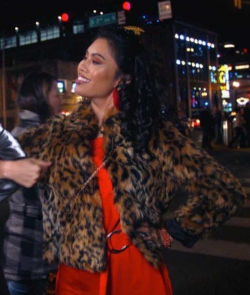I Hate New Year's Ashley Argota Leopard Print Jacket