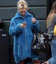 I Hate Suzie Suzie Pickles Blue Fur Coat