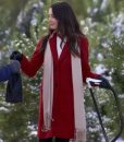On The 12th Date of Christmas Mallory Jansen Red Coat