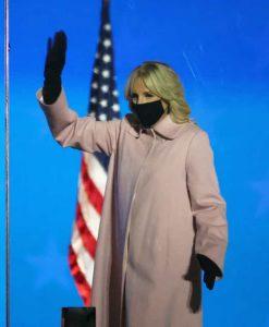 Jill Biden Pink Coat