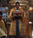 Jingle Jangle a Christmas Journey Justin Cornwell Checkered Trench Coat