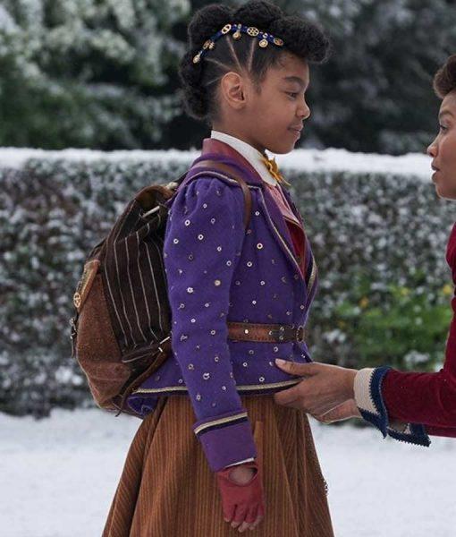 Jingle Jangle a Christmas Journey Madalen Mills Jacket
