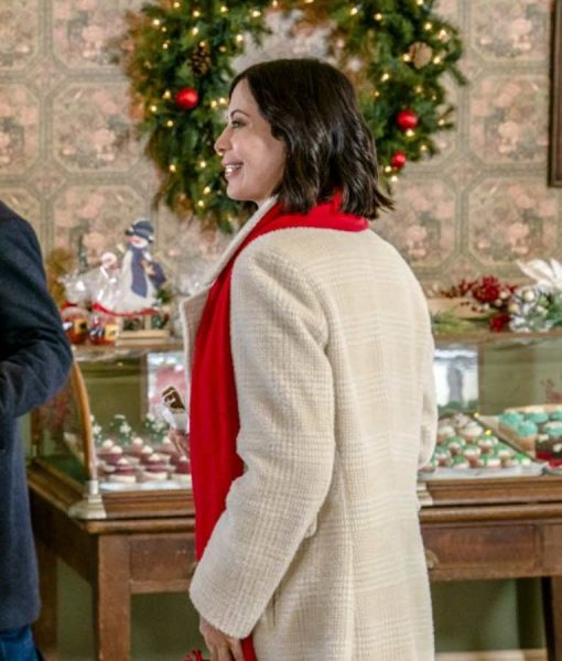 Joan Meet Me at Christmas Catherine Bell White Coat