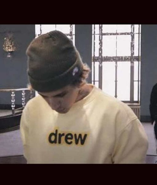 Justin Bieber Holy Acoustic Drew Sweatshirt