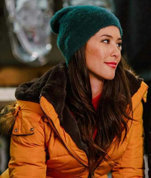 Kaitlyn Christmas With A View Clara Garrison Puffer Jacket