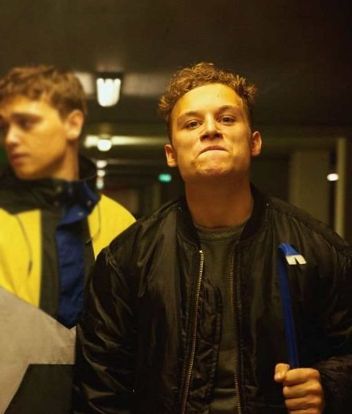 Here Are the Young Men Finn Cole Bomber Jacket