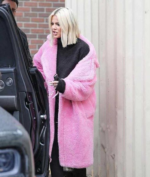 Keeping Up With The Kardashians S19 Khloe Kardashians Pink Fur Coat
