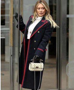 Younger Hilary Duff S07 Wool-blend Coat