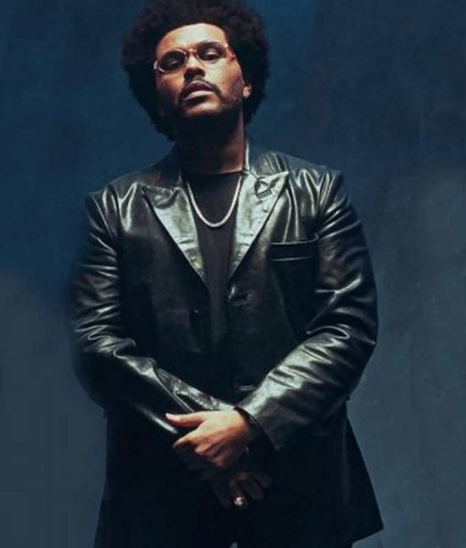 Maluma Hawái Remix The Weeknd Leather Jacket
